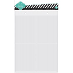 "Album Page Protectors 6""x8"" 12 Pkg Favorite Things Heidi Swapp"