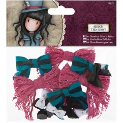 Gorjuss Ribbon Trim Bows 1 /Pkg