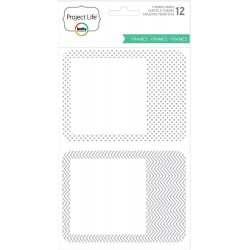Photo Frames Specialty Cards 12 Pkg Project Life