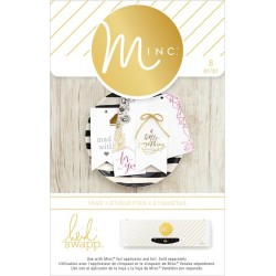 For You Tags Minc Collection 21 Pkg Heidi Swapp American Crafts