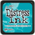 Peacock Feathers Distress Mini Ink Pads Tim Holtz