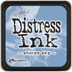Stormy Sky Distress Mini Ink Pads Tim Holtz