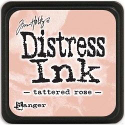 Tattered Rose Distress Mini Ink Pads Tim Holtz