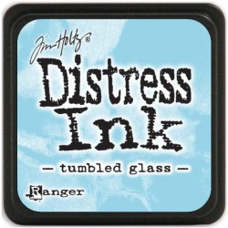 Tumbled Glass Distress Mini Ink Pads Tim Holtz