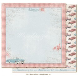 "He picks Her up 12""x12"" Summer Crush Maja Design"