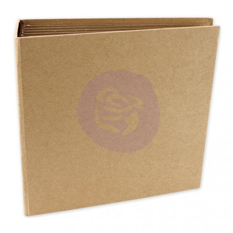 """Square Memory Hardware Chipboard Journal 6,25""""x6,25"""""""