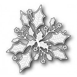 Holly Flourish Memory Box Die