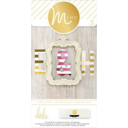 Jumbo Paper Alphabet Minc Collection 38 Pkg Heidi Swapp American Crafts