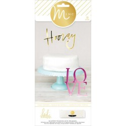 Cake Toppers Minc Collection 26 Pkg Heidi Swapp American Crafts