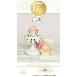 Cupcake Wraps & Toppers Minc Collection 96 Pkg Heidi Swapp American Crafts