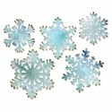 Paper Snowflakes Sizzix Thinlits by Tim Holtz