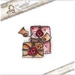 Christmas Apples Rubber Stamp - ALC-15