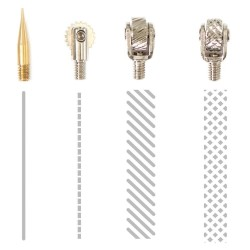 Decorative Cutting & Fusing Fuse Tool Tips 4 Pkg