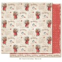 "Carta Never to Old 12""x12"" Home for the Holidays Collection Maja Design"