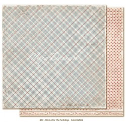 "White Christmas 12""x12"" Home for the Holidays Collection Maja Design"