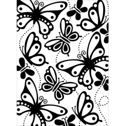 Shell Corner Embossing Folder Darice