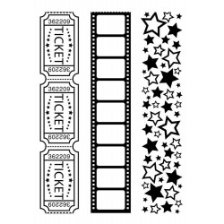 Birthday 3 Embossing Folder Darice
