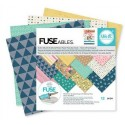 "FUSEables Plastic Paper Pack 6""x6"" 12 Pkg We'R Memory Keepers"