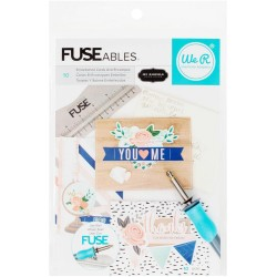 Everyday FUSEables Embellished Cards and Envelopes Kit 10 Pkg We'R Memory Keepers