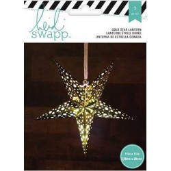 "White 5 Point Star Paper Lantern 11"" Heidi Swapp"