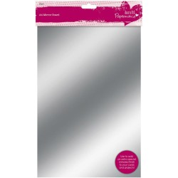 Gold & Silver Papermania 250 gsm Mirror Board A4 20 Pkg Docrafts