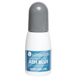 Ash Blue Silhouette Mint Ink