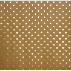 "Lattice Craft with Gold Foil Paper 12"" x 12"" Bazzill"