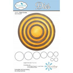 Fitted Circles Dies Elizabeth Craft Designs
