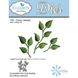 Curvy Leaves Dies Elizabeth Craft Designs