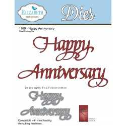 Happy Anniversary A Way With Words Dies Elizabeth Craft Designs