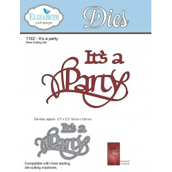 It's a Party A Way With Words Dies Elizabeth Craft Designs