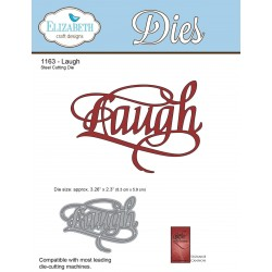 Laugh A Way With Words Dies Elizabeth Craft Designs