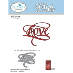 Love A Way With Words Dies Elizabeth Craft Designs