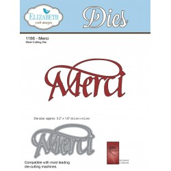 Merci A Way With Words Dies Elizabeth Craft Designs