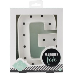 Letter KIT G Marquee Love Letters Numbers & Shapes 8,5 Heidi Swapp