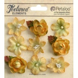 Fiori Petaloo Amber Mini Blossoms 9 Pkg