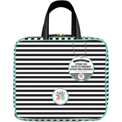 "Striped Create 365 The Happy Planner Storage Case 12""x10,5""x4"" Me & My Big Ideas"