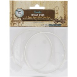 "Bottle Cap Exposy Dots 2,75"" 2"" pkg"