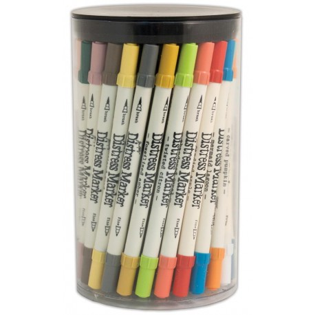 Distress Markers Tube Set 60 Markers Tim Holtz