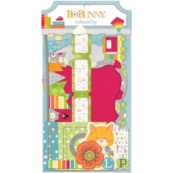 Toy Box Noteworthy Die-Cuts 42 Pkg Bo Bunny
