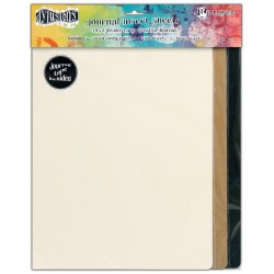 Large Journal Insert Sheets 12 Pkg Dyan Reaveley's Dylusions