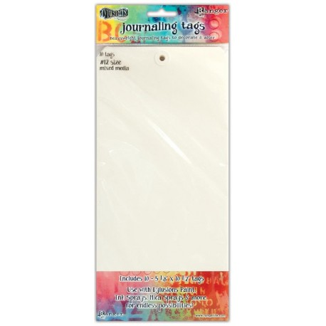 Journaling Tags Size 10 Media Paper 10 Pkg Dyan Reaveley's Dylusions