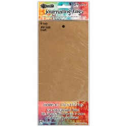 Kraft size 10 Journaling Tags10 Pkg Dyan Reaveley's Dylusions