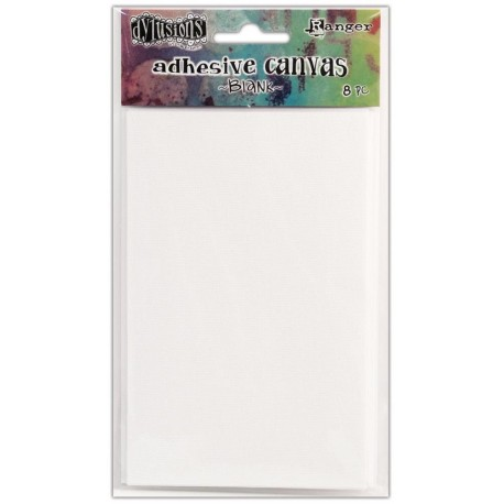"Adhesive Canvas Blank 3,375""x5,25"" Dyan Reaveley's Dylusions"