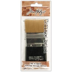 "Distress Distress Collage Brush 1 3/4"" Tim Holtz Ranger"