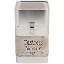 Distress Marker Storage Tin Empty by Tim Holtz