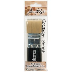 "Distress Distress Collage Brush 1 1/4"" Tim Holtz Ranger"