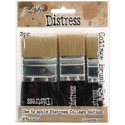 Distress Distress Collage Brush Assortment Tim Holtz Ranger
