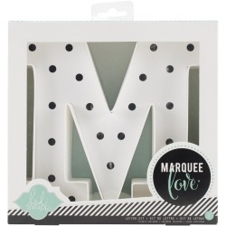 Letter KIT M Marquee Love Letters Numbers & Shapes 8,5 Heidi Swapp