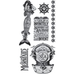 Voyage Beneath The Sea 1 Cling Stamps by Graphic45 Hampton Art